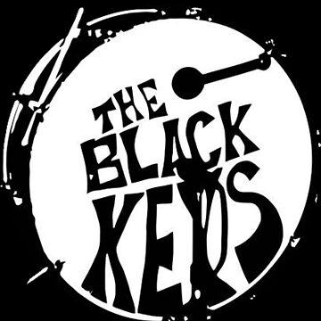 Black Keys drum logo by chekov429