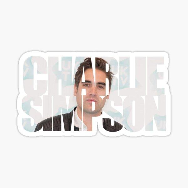 Charlie Simpson Sticker
