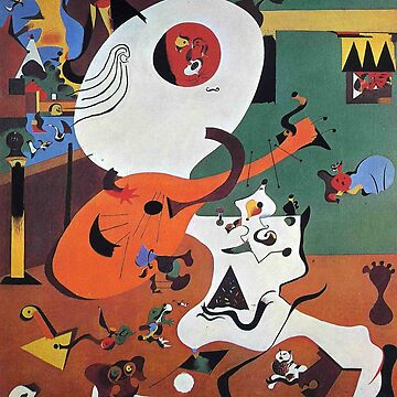Joan Miro - Dutch Interior by hellfinger