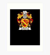 Lámina artística Calatrava Coat of Arms - Family Crest Shirt