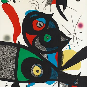 Joan Miro - Untitled (Cats) by hellfinger