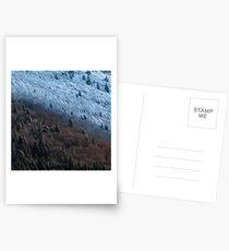 Automne VS Hiver Cartes postales