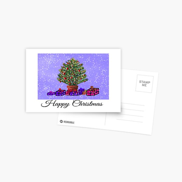Tree Christmas cards  Postal