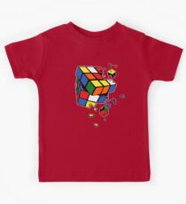 Exploding Cube Kids Tee