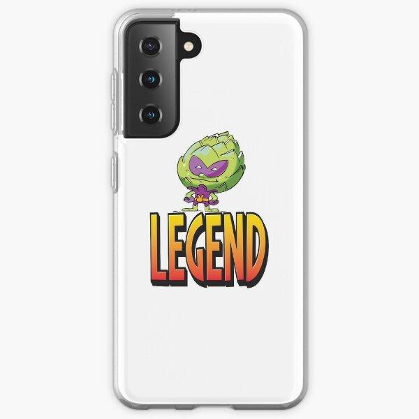 Legend Artichoke Alien The Man The Myth The Legend Funny Alien I Believe in Aliens Foodietoon Samsung Galaxy Soft Case