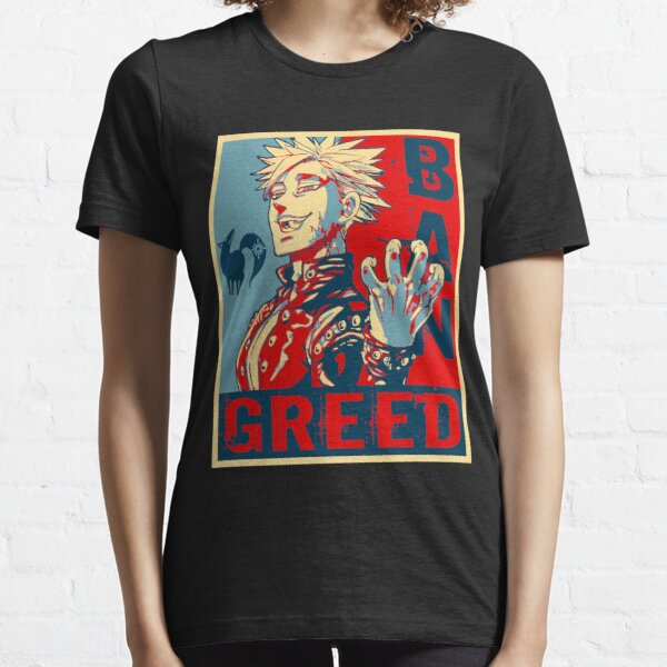 Seven Deadly Sins Anime Ban Greed Essential T-Shirt