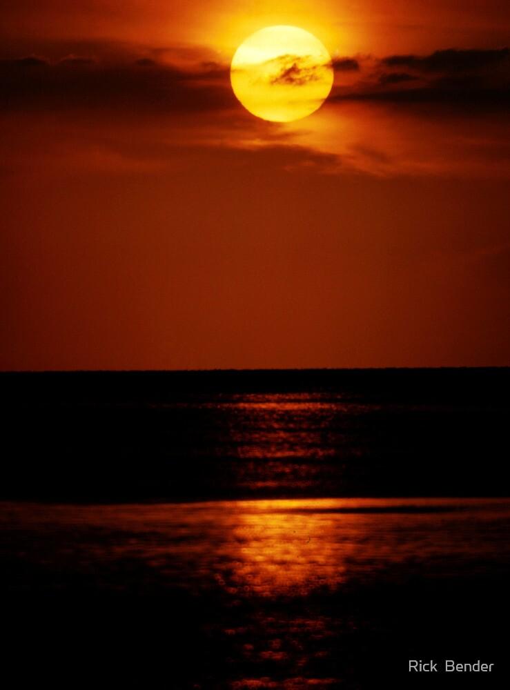 Sunset Beach by Rick  Bender