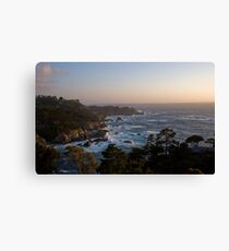 Big Sur at sunset, California Canvas Print