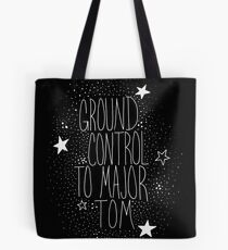 Major Tom invertiert Tote Bag