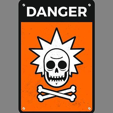 Danger Rick Sign by zoljo
