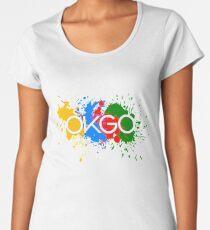 OK, gehen Sie Farben Frauen Premium T-Shirts