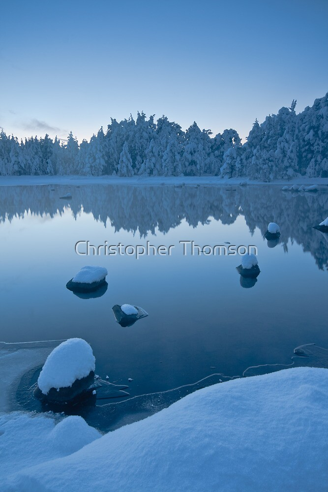 Morlich Reflection by Christopher Thomson