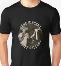 Gene Vincent und Cliff Gallup Slim Fit T-Shirt