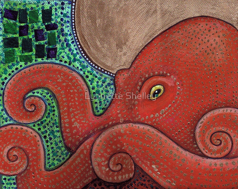 Icon VIII: The Octopus by Lynnette Shelley