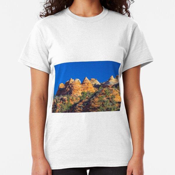 Pinnacles Zion  Canyon Classic T-Shirt