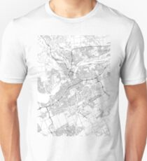 Ottawa map poster print wall art, Ontario gift printable, Home and Nursery, Modern map decor for office, Map Art, Map Gifts Unisex T-Shirt