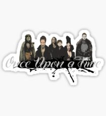 Once upon a time Fan Art Sticker