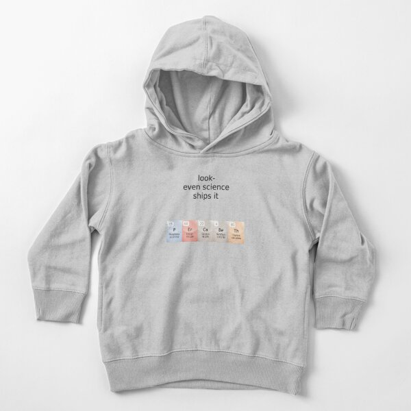 percabeth- even science ships it! Toddler Pullover Hoodie