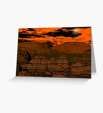 A night in Bryce Canyon Greeting Card