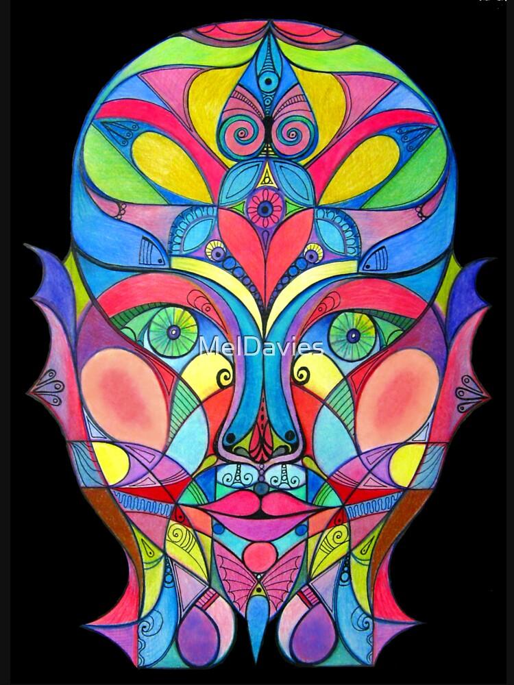 Stained Glass Mirror de MelDavies