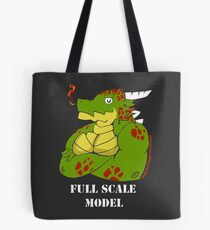 FULL SCALE MODEL Tote Bag