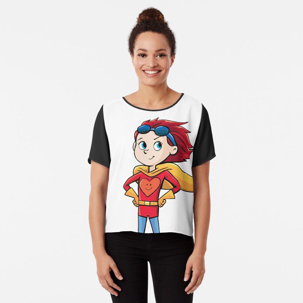 Super Girl Chiffon Top