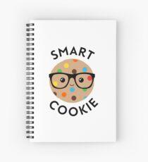 Smart cookie cute illustration Spiral Notebook