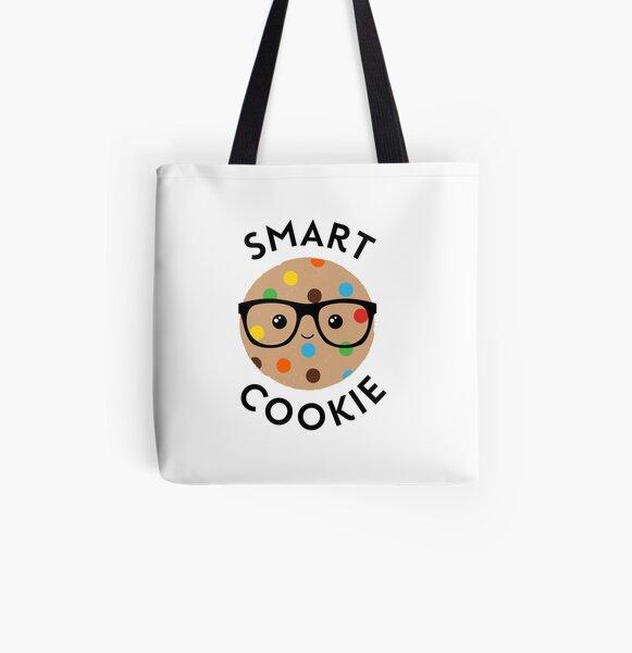 You Are One Smart Cookie Regular Tote Bag Teacher Student Genius Shopper