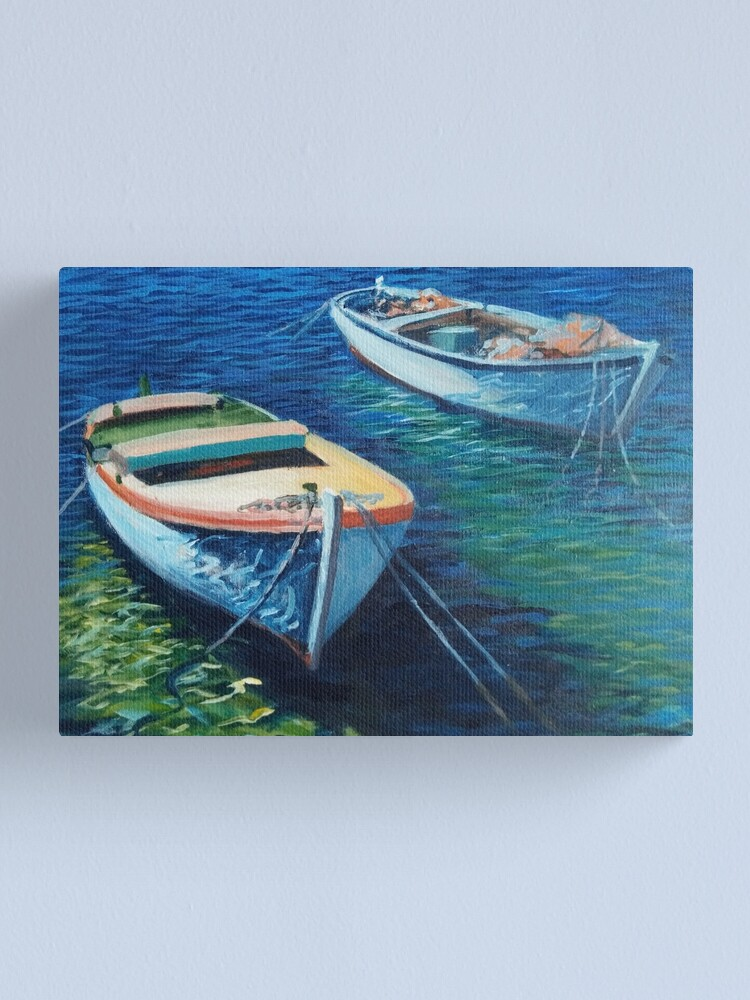 Alternate view of Boats on Adriatic Sea Canvas Print