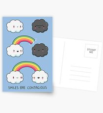Smiles are contagious Postcards