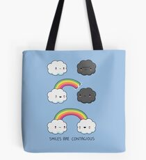 Smiles are contagious Tote Bag