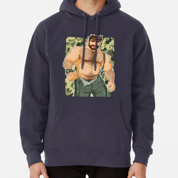 ADAM LIKES DUNGAREES - CAMOUFLAGE Pullover Hoodie