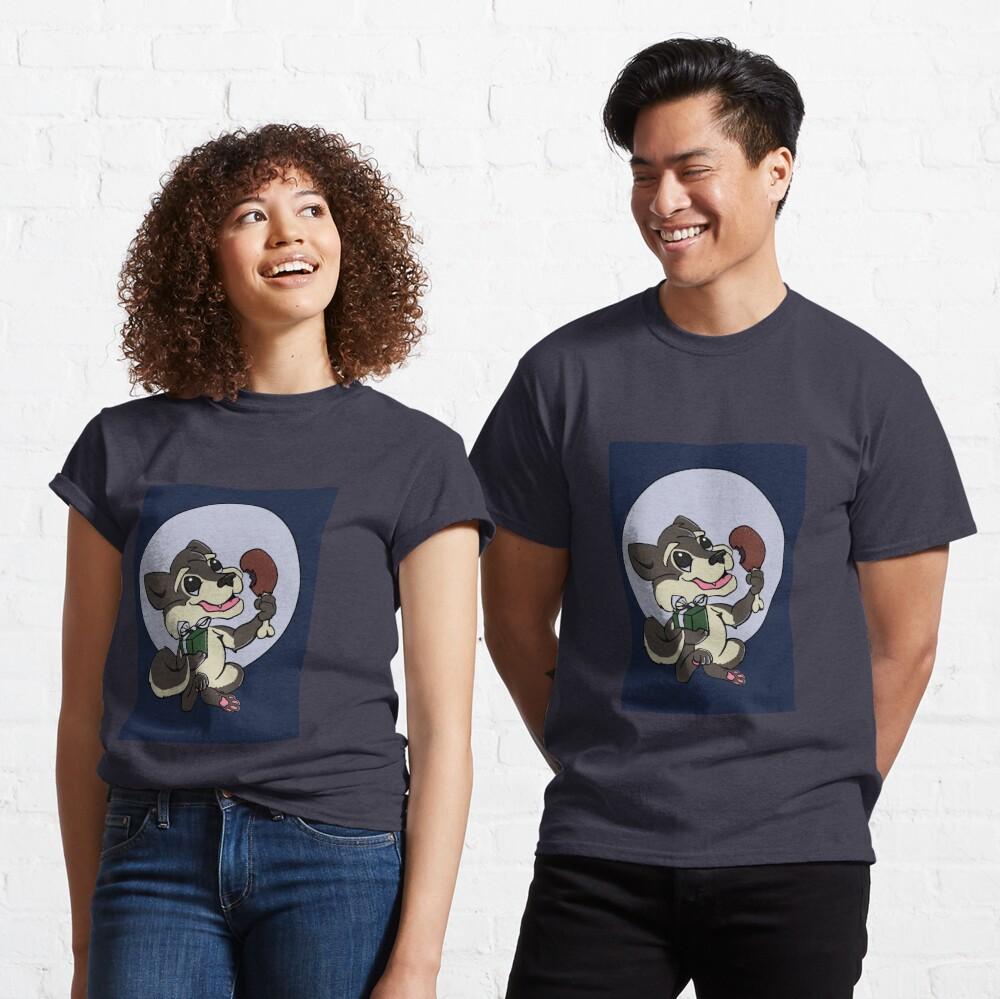 Happy Wolf  Classic T-Shirt