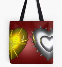 One Is Silver And The Other's Gold Tote Bag