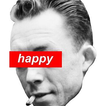 Happy Albert Camus by qqqueiru