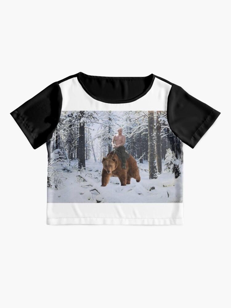 Vista alternativa de Blusa Putin en un oso