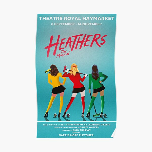 Heathers : The Musical - West End Poster