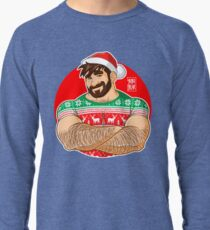 ADAM LIKES CROSSING ARMS AT XMAS PARTIES Lightweight Sweatshirt