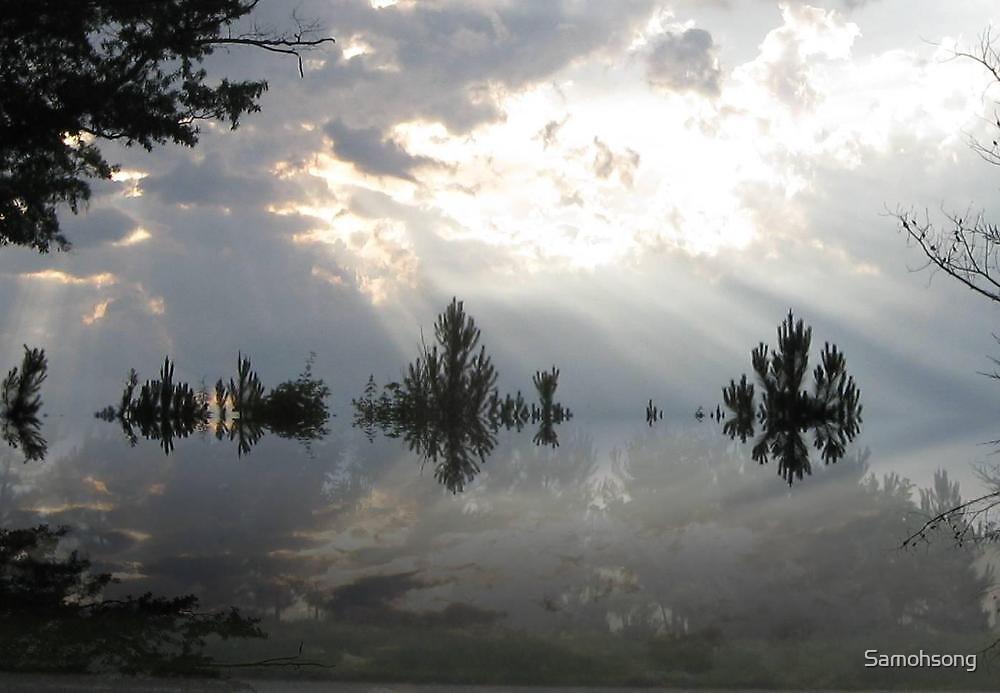 reflective sky by Samohsong