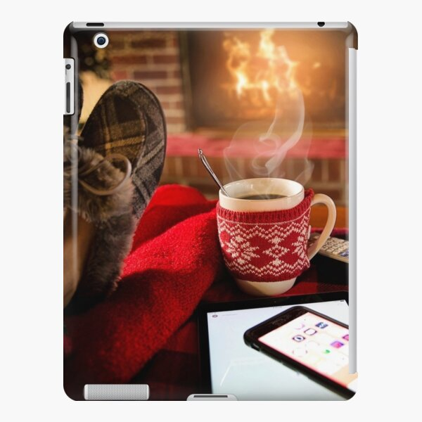 Relaxing Christmas Image iPad Snap Case