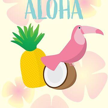 aloha tropical luau party by ConsilienceCo