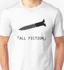 「ALL FICTION」 Slim Fit T-Shirt