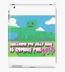 Guillermo the Jelly King! iPad Case/Skin