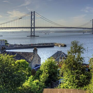 Forth Road Bridge and Harbour by tomg