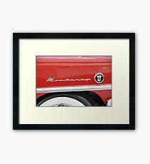 Shiney Monterey Framed Print