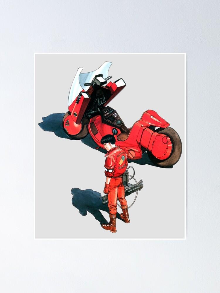Kaneda From Akira Manga And Movie Poster By Beamerboy Art Redbubble