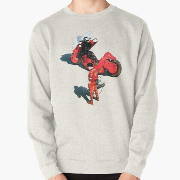 Kaneda from Akira manga and movie Pullover Sweatshirt