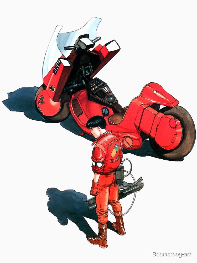Kaneda from Akira manga and movie by Beamerboy-art