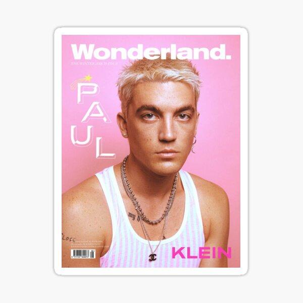 Paul Klein WONDERLAND Cover Sticker