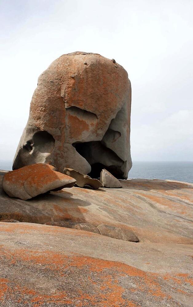 Remarkable Rocks -  Kangaroo Island, South Australia by Carissa Hubrechsen
